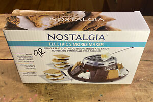 Nostalgia Electric S'mores Maker - Barely Used!