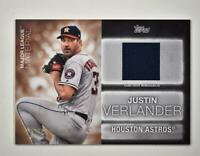 2020 Series 2 Major League Material Relic Black #MLM-JV Justin Verlander /199