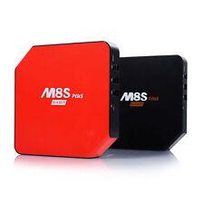 5pcs/lot dhl free M8S PLUS 2G/16G  S905 Android5.1 4k TV Box  2.4G/5.8G WIFI
