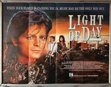 Cinema Poster: LIGHT OF DAY 1988 (Quad) Michael J. Fox Gena Rowlands Joan Jett