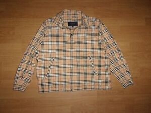 Burberry Golf 'Burberry check' checked ladies zip up jacket size L