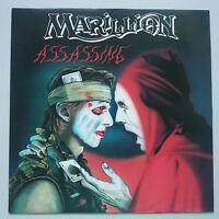 "Marillion - Assassing 12"" Vinyl Single UK 1st Press 1984 NM/NM"