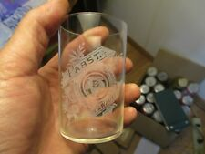 """Nice Pre Prohibition PABST Milwaukee Age Purity Acid Etched Beer Glass 3-1/2"""""""