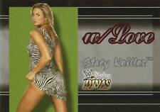 STACY KEIBLER 2003 Fleer WWE DIVAS W/LOVE Insert Card  #5WL