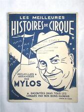 HISTOIRES DE CIRQUE RACONTEES PAR LES CLOWNS 1955
