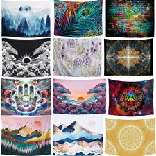 Mandala Tapestry Wall Hanging Xmas Decor Cover Carpet Yoga Mat Beach Towel Home