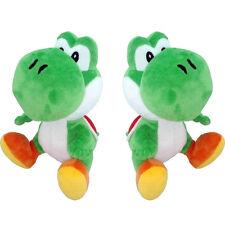 New Super Mario Brothers Green Yoshi  Soft Plush 7in Stuffed Cute Aninmal Doll