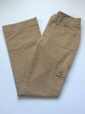 J.Crew Women's Brown Cargo Casual Chino Pants Size 0 Style 80279