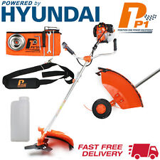 Petrol Grass Trimmer Brush Cutter 52cc 2stroke HYUNDAI Engine Brushcutter