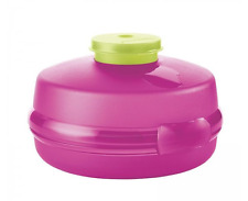 Tupperware Sandwich Bagel Round Keeper & Mini for Mayo Cream Cheese Pink New