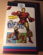 IRON MAN CASSETTE 1 BIG BOX VHS PRE CERT GUILD MARVEL COMICS UK RARE