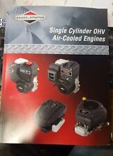 BRIGGS & STRATTON SMALL ENGINE 1 CYL. OHV LAWN MOWER TRACTOR REPAIR BOOK
