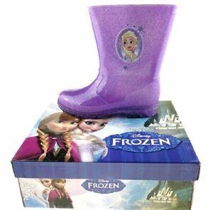 Infant Girls Winter Waterproof Wellington Boots Wellies Splash Rain Shoes Size