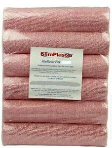 SLIM PLASTER / YESO REDUCTOR. Weight Loss. 6 PACK PINK. BRAZILIAN, ORIGINAL!