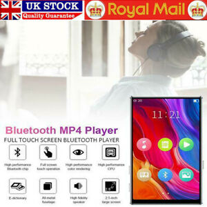 """4"""" Touch Screen Music Player 8GB MP5/MP4 Bluetooth Lossless Sound FM Game Video"""