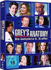 GREY'S ANATOMY, Staffel 6 (6 DVDs) NEU+OVP