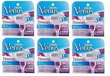 Gillette Venus Breeze Razors Blades for Women - 24 Cartridges