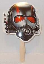 Ant-Man Paper Fan Mask Disney Store Giveaway for Movie Release Date Marvel Comic