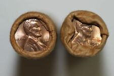 Two BU Bank wrapped Rolls of 1957-D Lincoln Cents (Stock #: NUM4509)