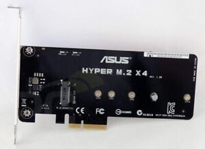 ASUS HYPER M.2 X4 NVME to PCIE CARD