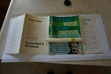 CAUCASIAN JOURNEY or LOST WORLD of the CAUCASUS (1958) NOT BOOK CLUB 154pgs.