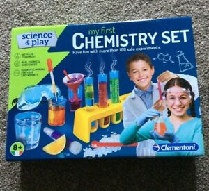 Clementoni Science & Play My First Chemistry Set - Age 8+