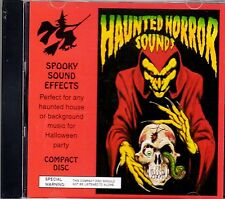 HAUNTED HORROR SOUNDS: CLASSIC SPOOKY HAUNTED HOUSE HALLOWEEN SOUND EFFECTS 1993