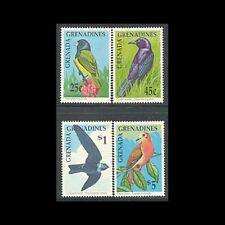 Grenada Grenadines, Sc #1190, 91, 94, 97, MNH, 1990, Birds , BI89F