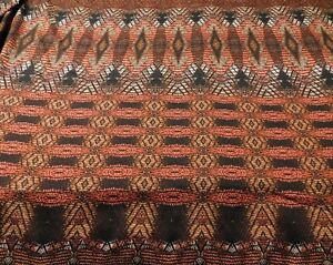 Red and Black Geometric  Lightweight Polyester  Fabric  S B T Y