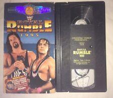 WWF - Royal Rumble 1995 (VHS, 1995) WWE WCW NWO COLISEUM VIDEO BRET HART DIESEL