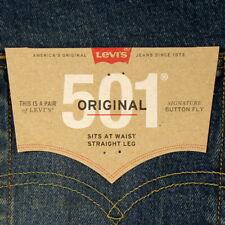 Levis 501 Mens Jeans Size 36 x 34 DARK BLUE FADE Stretch Straight Leg Levi's NWT