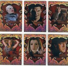 Buffy TVS Big Bads Complete The Other Side Chase Card Set OS1-6