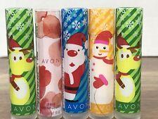 *Lot of 5* Avon Lip Balm 2 Green Mint1 Berry 1 Berry Blizzard 1 Sugar Cookie NOS