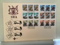 South West Africa  1978 Vote is your duty Large stamps cover Ref R25657