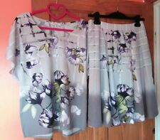 great plains boutique top and skirt..outfit..flower print
