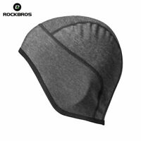 ROCKBROS Bike Under Helmet Winter Thermal Windproof Hat Men Outdoor Sports Cap