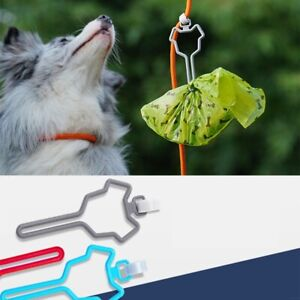 2PCS Dog Poop Waste Bag Holder Dispenser  Easy to Use Hands-Free Holder 2021