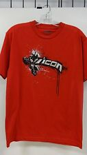 ICON LOFT TEE, RED, LARGE, 3030-6356 CASUAL WEAR. New, never worn