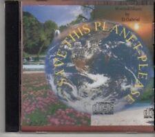 (DJ508) D. Gabriel, Save This Planet Please - DJ CD