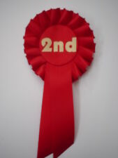 2ND  PLACE ROSETTES FOR CLUBS,EVENTS,SCHOOLS