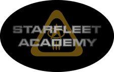 Star Trek Movies Oval Sticker, Decal, STARFLEET ACADEMY