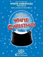 White Christmas Sheet Music The Musical Vocal Selections Book NEW 000313429