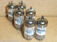 Siemens ECC81 pair ( = 12AT7) vacuum tubes NOS matched audio tubes