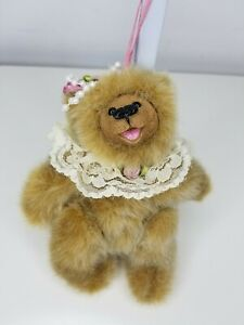 "Kimberly's Originals IE/1115 Brown Bear Plush Soft Stuffed Animal jointed 12"""
