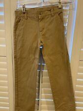 Janie And Jack Boys 8 Adjustable Waist Band khaki pants