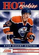 2011-12 Score Oilers Hockey Card #551 Ryan Nugent-Hopkins HR SP RC