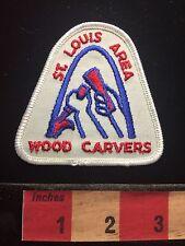 St Louis Area Wood Carvers Missouri Patch ~ Wood Carver  C60C