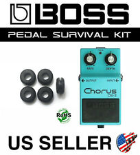 BOSS CE-2 CHORUS SURVIVAL KIT GUITAR PEDAL GROMMET RUBBER O-RING SET OF 5