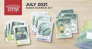 Stampin' Up! The Adventure Begins July 2021 Paper Pumpkin Full Kit