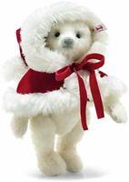 NEW Steiff Nicola Christmas Teddy Bear Limited Edition Mohair 31cm Plush Doll